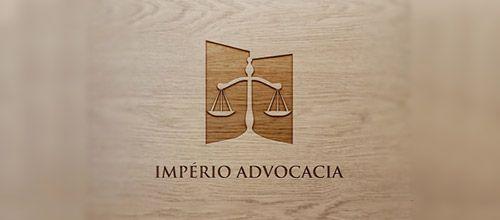 beautiful logo design law firm