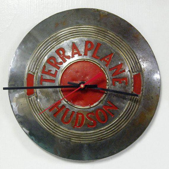 1937 Terraplane Hudson Hubcap Clock 1930 S Wall Clock