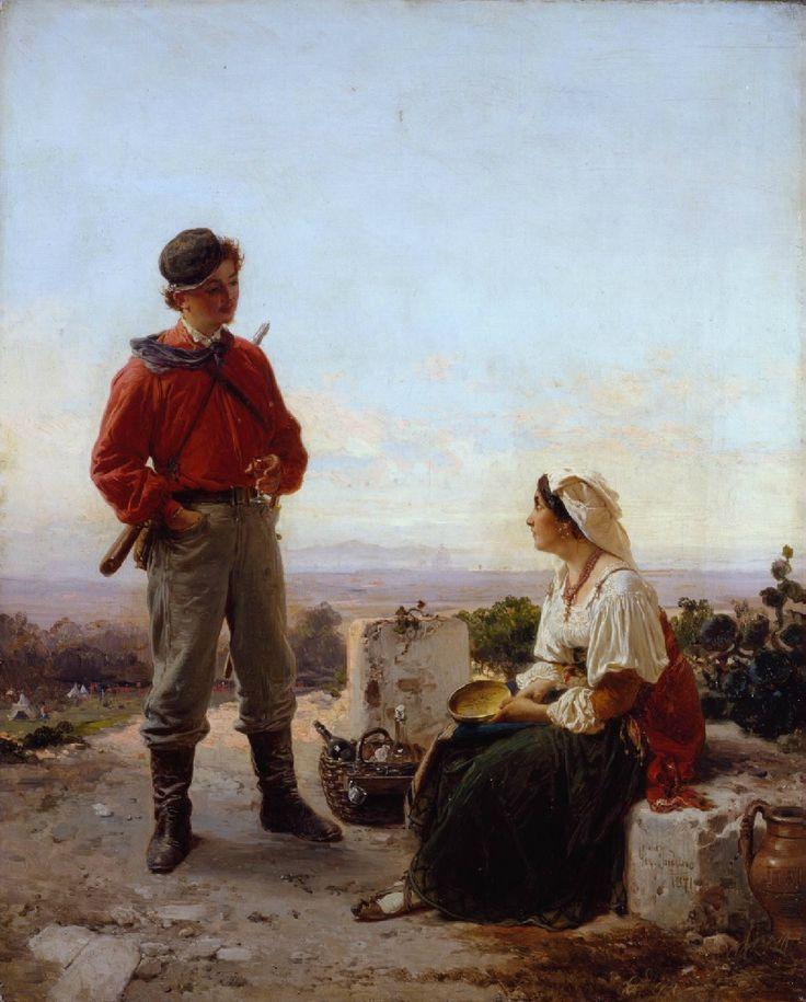 Gerolamo Induno: 'Il Garibaldino.'