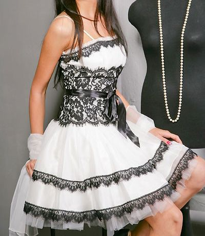 черно-белые свадебные платья - snowgirl - Photo.Qip.ru / id: vax