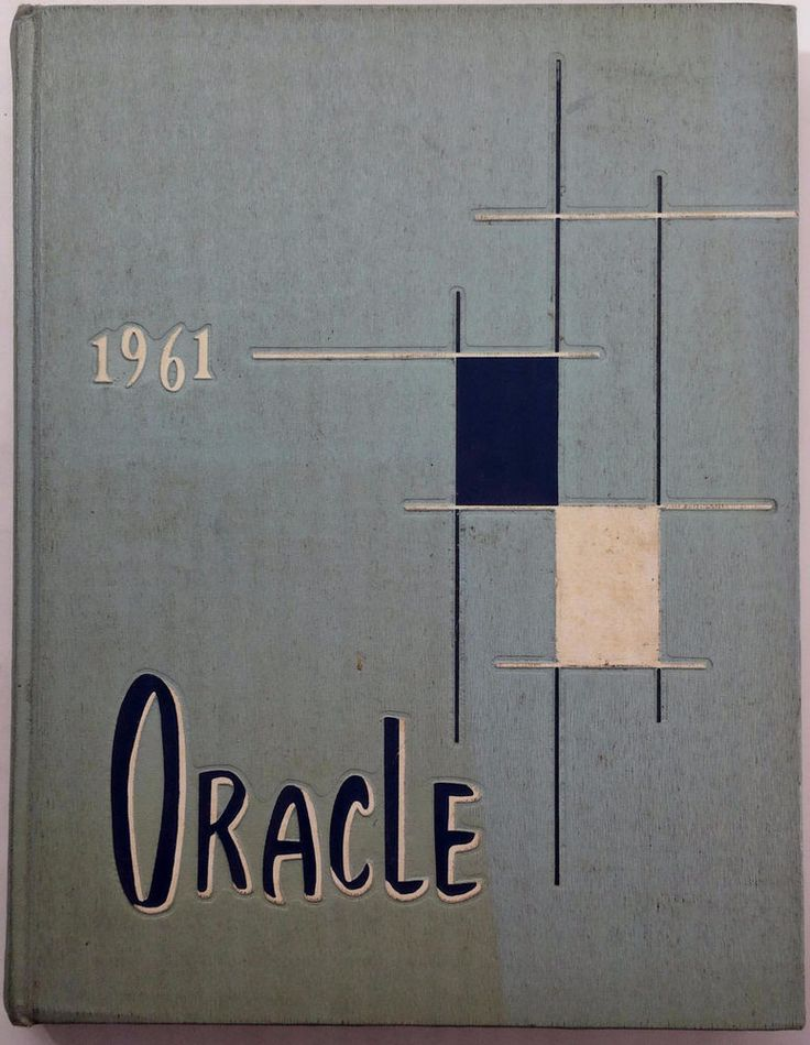 1961 BAKERSFIELD HIGH SCHOOL California Original YEARBOOK Annual Oracle