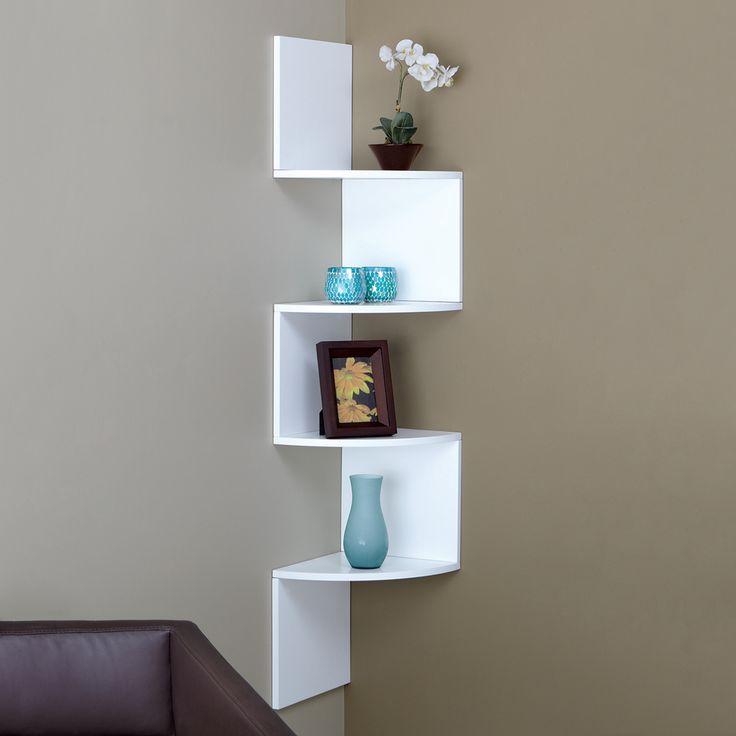 nexxt design fn01460 4 provo corner wall mounted shelf at atg stores