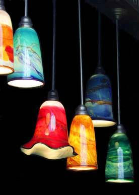 glass blown pendant lighting colored pendant art glass lamps beautiful work on this site light pinterest lighting lighting and pendant light