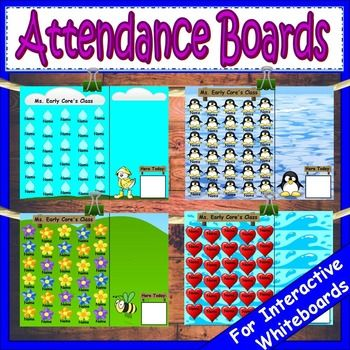 If you like my attendance boards you will love this growing bundle. This bundle will continue to grow until it includes 12 attendance boards (one for each month). When new products are added the price will also increase. This means that if you buy now you will get the best deal and all additional attendance boards for free.