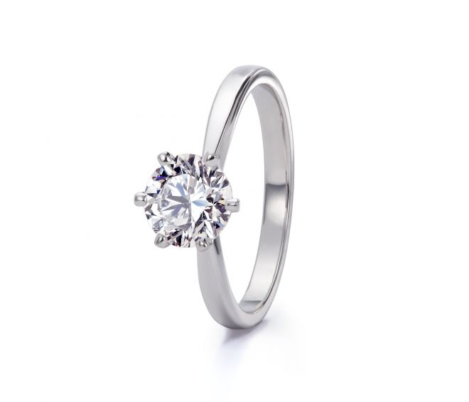 Delicacy Round Cut Ring | #Wedding #Bridal #WeddingRing #Ring