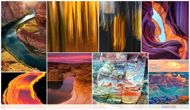 CANYON Canyon is a derivative of the 'Burn' graphics story, as we look at firey landscapes and textural curves formed in the Arizonian desert. The iconic range of colors of a flame is of course vital, and thick liquid paint mimic lethal lava.
