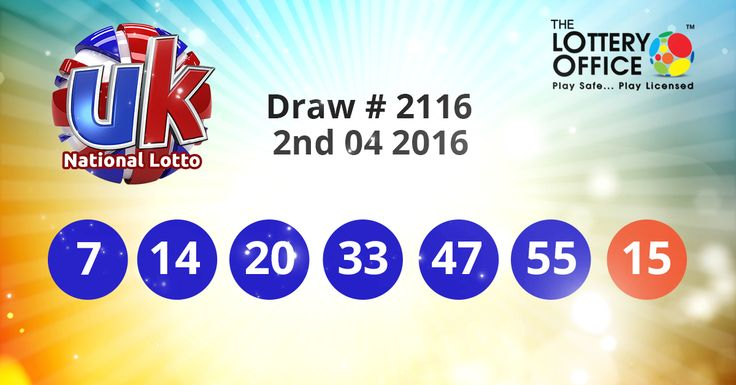 UK National Lotto winning numbers results are here. Next Jackpot: £34.8 million #lotto #lottery #loteria #LotteryResults #LotteryOffice