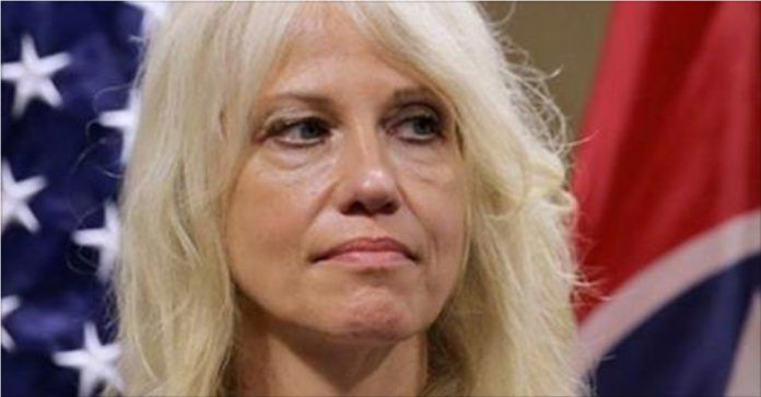 Stephen Colbert has been on a Kellyanne Conway bashing spree as of late, and why not? Her recentextraunhinged TV behavior has given comics some golden material. Kellyanne Conway appeared on Fox News to speak with Sean Hannity and brought visual aid cards to help explain to everyone what exactly is going on with the Russia …