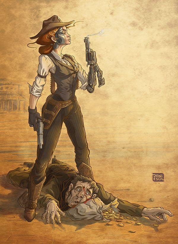 Sheriff-Cyborg on Behance