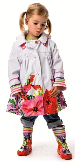 Catimini 2013 Spring/Summer Spirit Ethnique Raincoat
