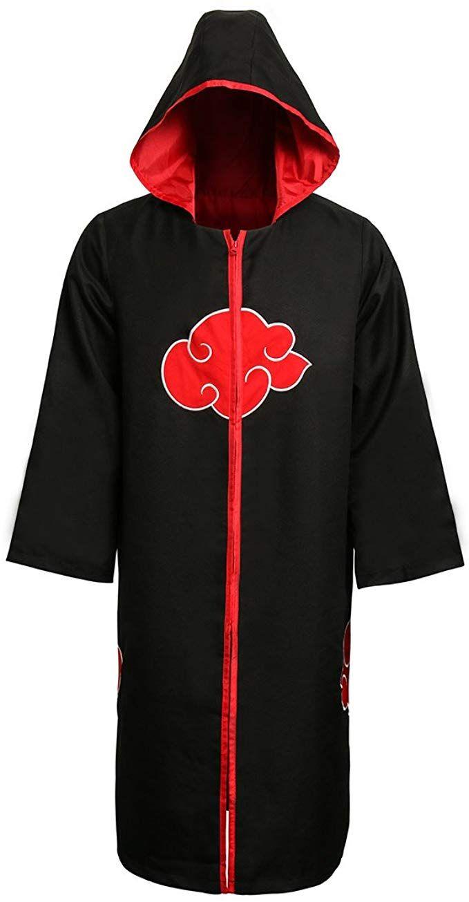 Akatsuki Coat : akatsuki, Custom, Naruto, Akatsuki, Trench, Christopher, Coat,, Cosplay, Costumes