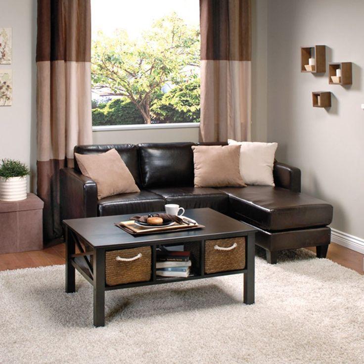 ARTHUR Corner Sofa (Brown)