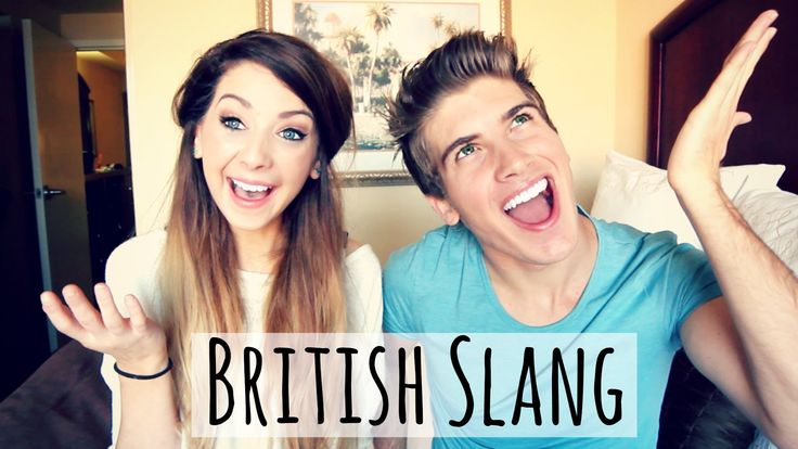British Slang With Joey Graceffa | Zoella. I love this video so much, I could not stop laughing and smiling