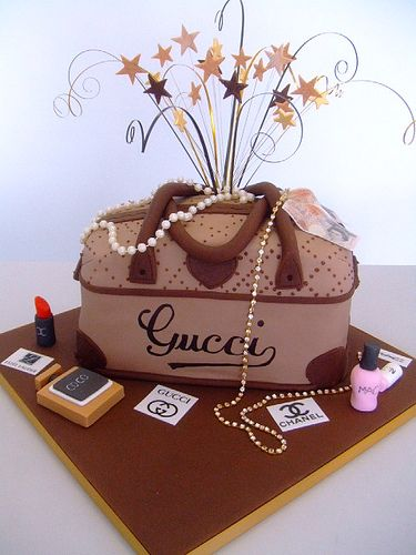 Gucci Birthday Cake Party Planners Pinterest
