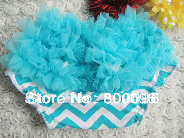 Детские шаровары синий и белый шеврон печати повседневная детская одежда милый ребенок крышка пеленки KP-CR020