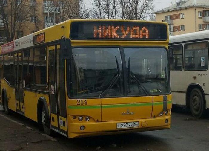 Смешная картинка про автобус