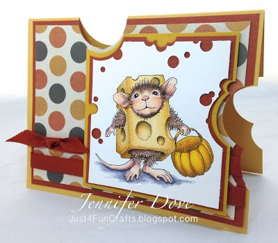 Just4FunCrafts and DoveArt Studios: SQUEAL! There is a mouse in the house!