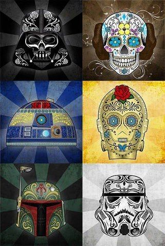 Star Wars tattoos @Ted Lee Lee Lee Clark @Kathy Chan Kimball Greeson Love the R2…