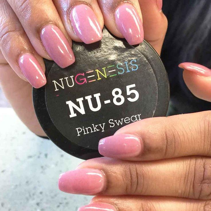 A Sweet, Feminine Hue Of Pink Nail Color In NuGenesis