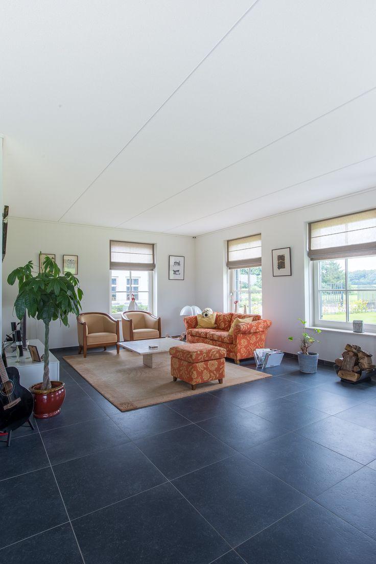 Belgisch hardsteen look keramische tegels voor de woonkamer. Ideaal in het onderhoud!