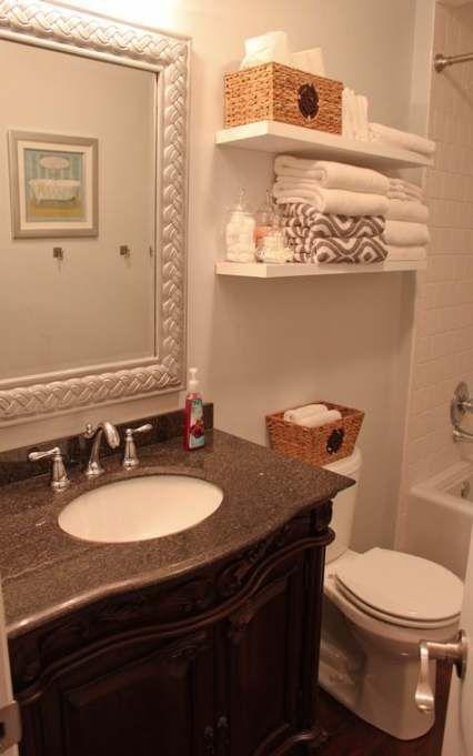 32 Trendy Ideas Bath Room Organization Above Toilet House   – {Bath} – #bath #Ho…  – most beautiful shelves