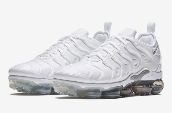 2957a320c167 The Nike Air VaporMax Plus Just Released In White   Wolf Grey The Nike Air  VaporMax