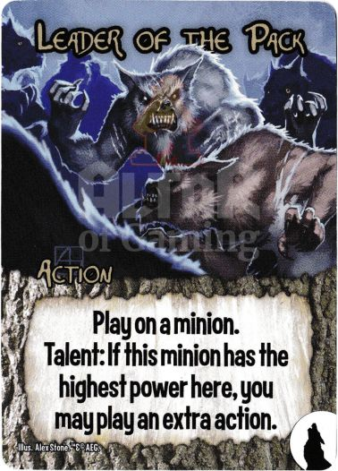 Leader of the Pack - Werewolves - Smash Up Card | Altar of Gaming