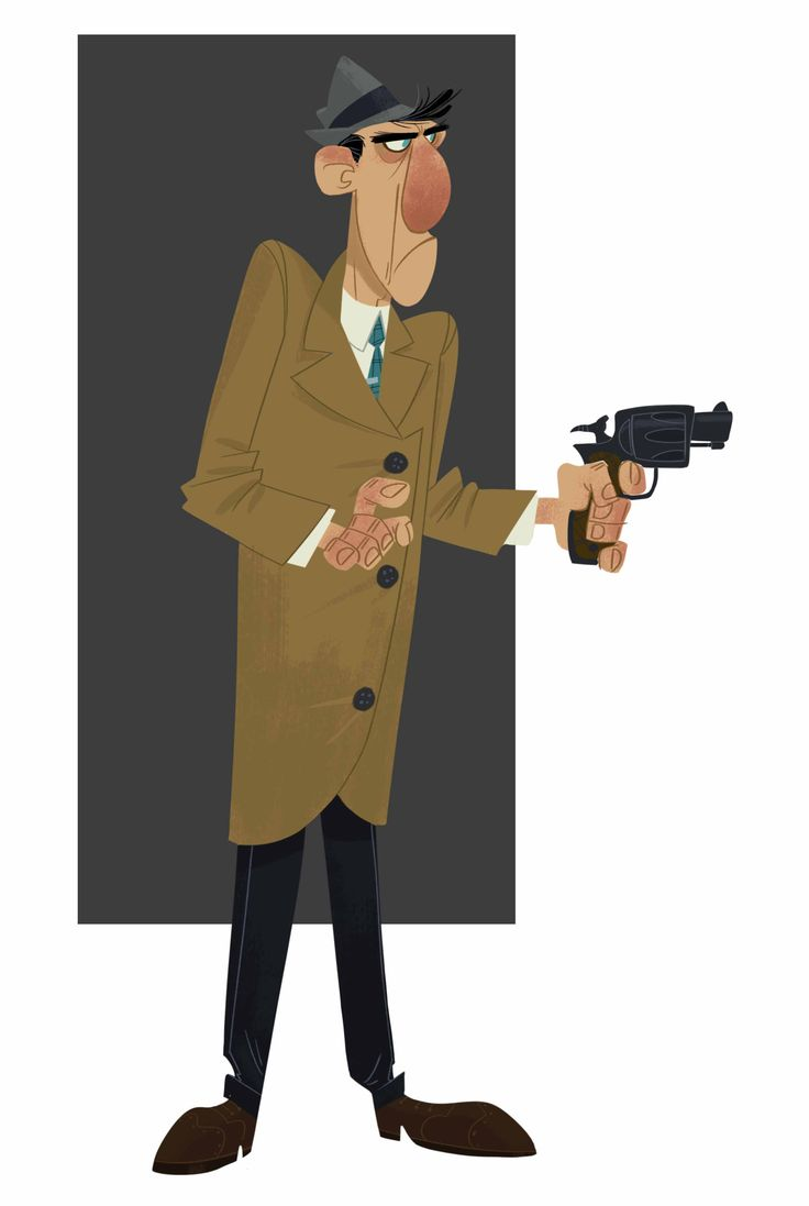 Animation h design s blog - Another Noir Guy For The Old Portfolio Which You Can Check Out Here Www