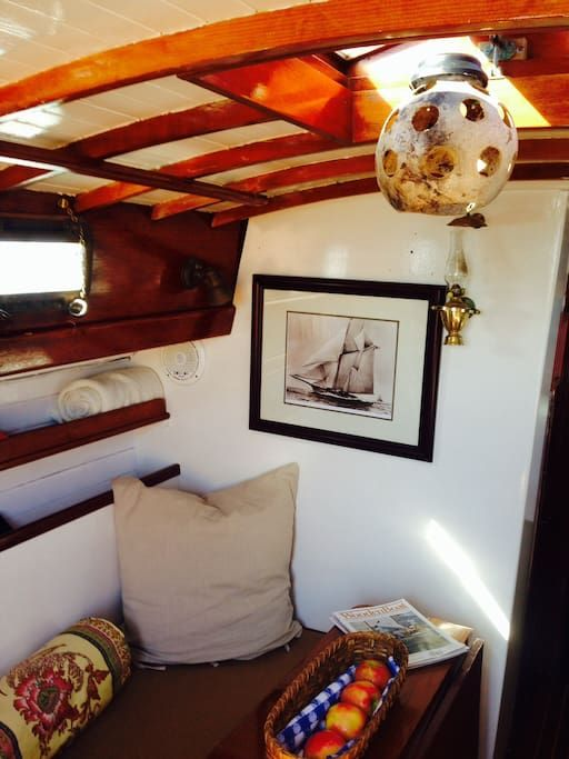 Check out this awesome listing on Airbnb: Nantucket Island on classic yacht - Boats for Rent in Nantucket