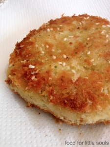 chickpea patty