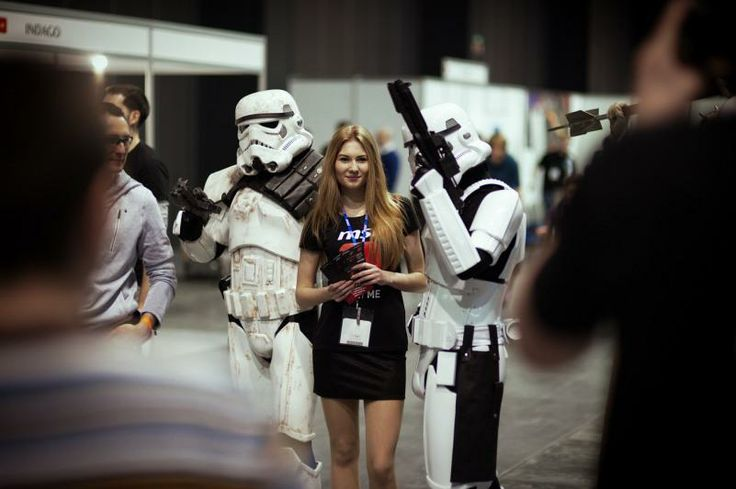 #SHCElements #BalticGames #Wingdansk #WinterGamingGdansk #AmberExpo ; #hostess #lady #girl #stormtroopers #starwars | photo: Piotr Połoczański