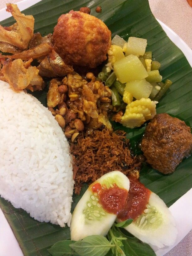 Nasi Rames at Java Kitchen