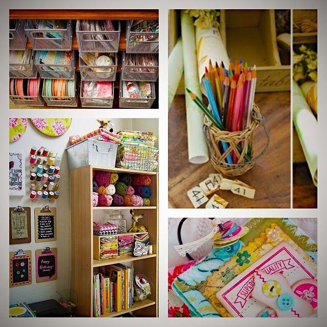 : Crafts Area, Organizations Ideas, Crafts Rooms, Crafts Spaces, Crafts Organizations, Rooms Ideas, Sewing Rooms, Crafts Supplies, Rooms Organizations