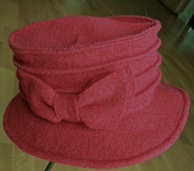 Hut aus Wollwalk, DIY