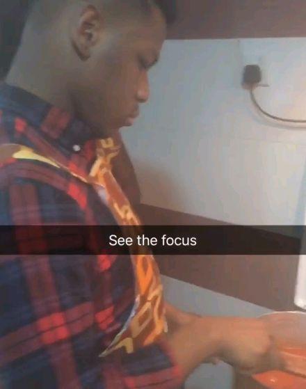 John Boyega is Back To Nigeria, Learns How To Cook Jollof Rice