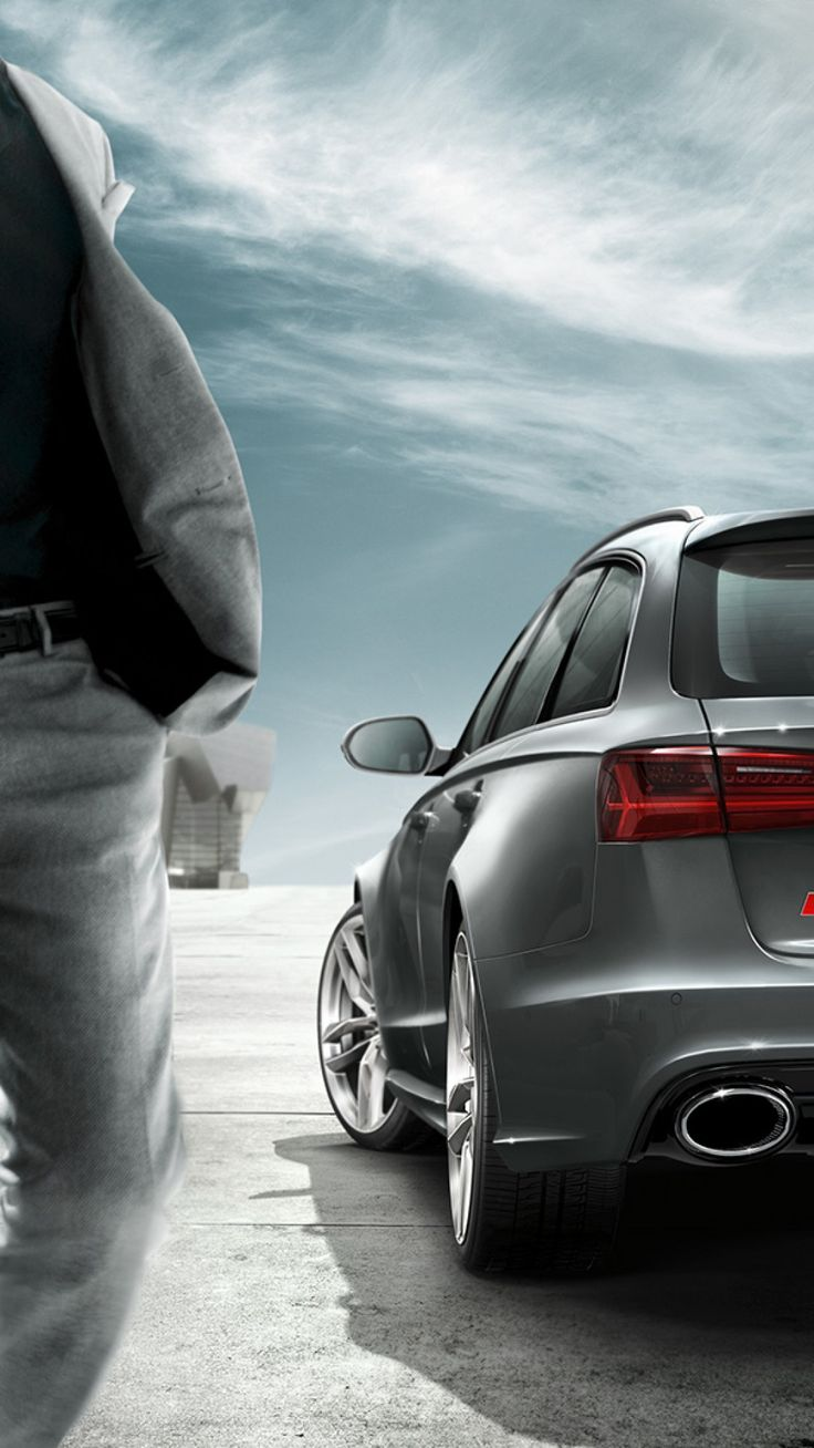 Audi RS 6 Avant Samsung S6 wallpaper