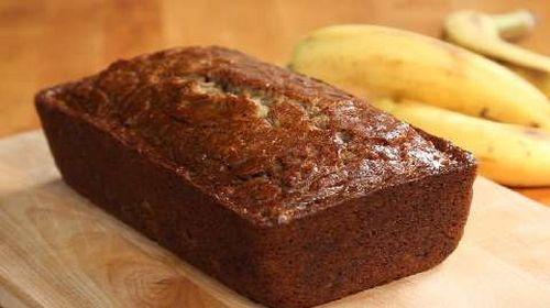 Easy Simple Moist Banana Bread Recipe http://easybananarecipes.com/simple-moist-banana-bread-recipe/