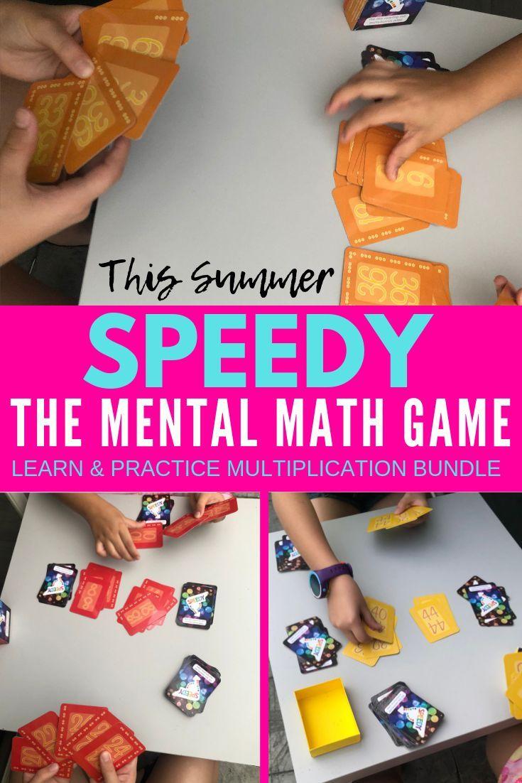 Speedy The Multiplication Card Game 2 9 Bundle Skip Counting Arrays Multiplication Multiplication Cards Math Games [ 1102 x 735 Pixel ]