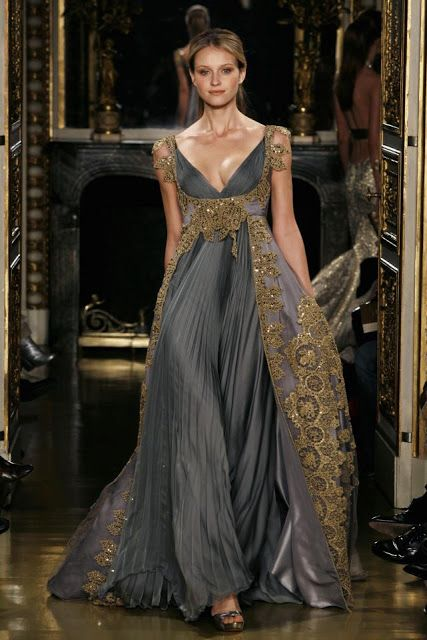 1001 fashion trends for 2012 and 2014: Zuhair Murad Haute Couture Dresses Spring-Summer 2007