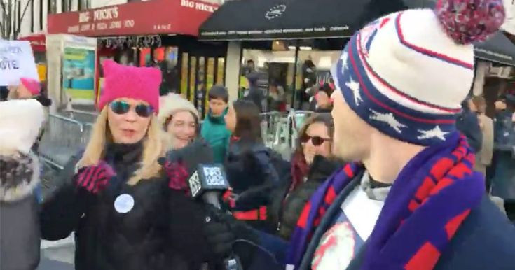 LIVE: Bill Clinton Rape T-Shirt Triggers Women's Marchers