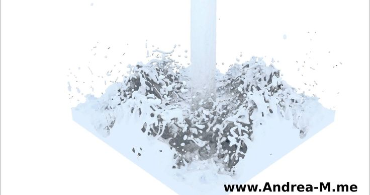 Simple 4K Blender Fluid Simulation