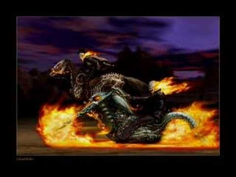 ghost rider and carter slade running together from the movie.  my bands bandpage: http://www.facebook.com/decadancemusic