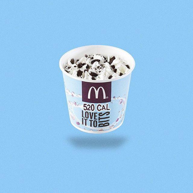 What do you expect from a Mc dessert? #mcdonalds #caloriebrands #icecream #mcflurry #fitforsummer #design #brand #instafood