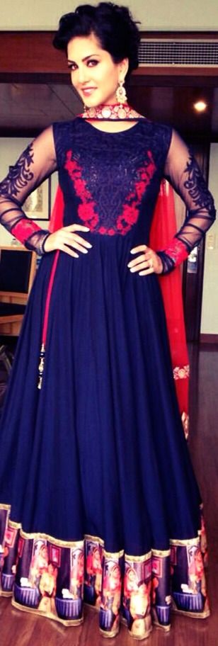 Gorgeous anarkali.