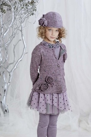 Biscotti Lilac with Rosettes Knit Long Sleeve Cardigan  *Preorder*: Cardigans, Kids Fashion, Biscotti Lilac, Knit Cardigan, Girls Friends, Girls Fashion, Lilacs, Girls Outfit, Knits