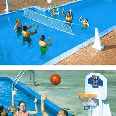 17 best images about pools on pinterest vinyls swimming for Pool design for volleyball