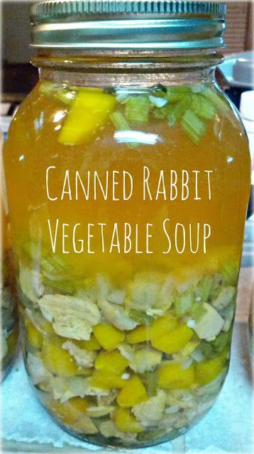 Canning rabbit meat recipes