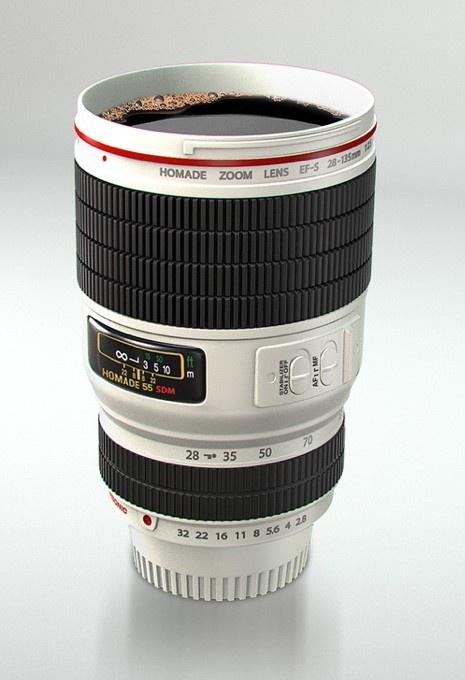 Camera Lens Coffee Mug #fordad #fathersday
