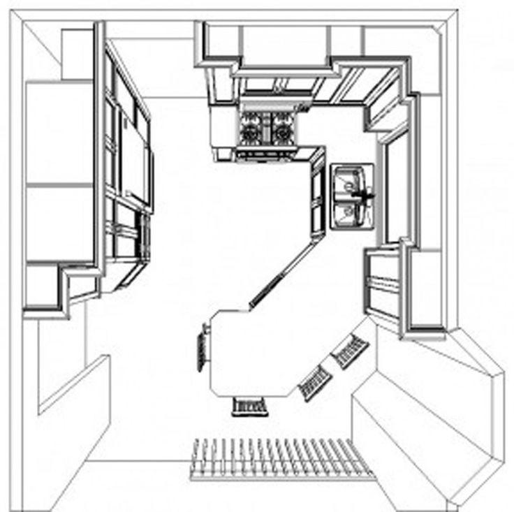 Best 25+ U Shaped Kitchen Interior Ideas On Pinterest