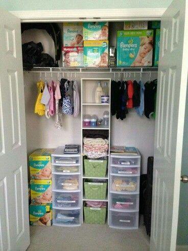 Closet · Baby Nursery OrganizationStorage ...